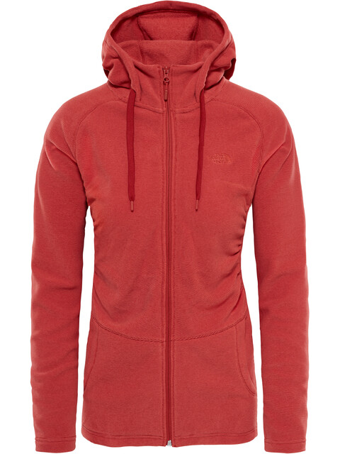 The North Face Mezzaluna Jas Dames rood